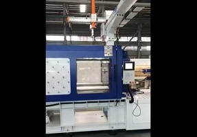 high speed injection machine testing video