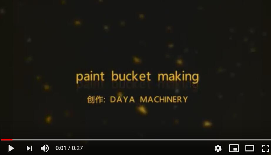 paint bucket making video