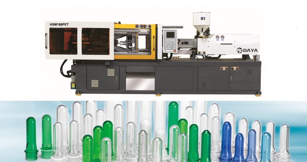 PET bottle prefrom injection moulding machine
